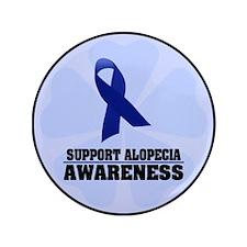 "Alopecia Awareness 3.5"" Button (100 pack)"
