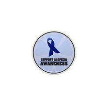 Alopecia Awareness Mini Button (10 pack)