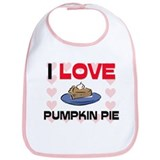I Love Puddings Bib