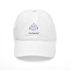 Got Simcha? Breslov Theme White Baseball Cap