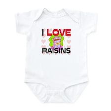 I Love Rainbow Trout Infant Bodysuit