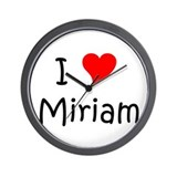Unique Miriam Wall Clock
