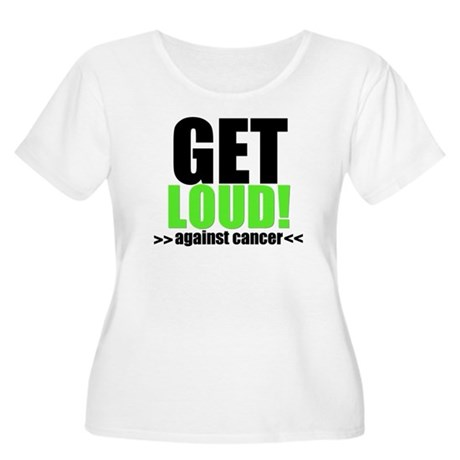 GetLoudAgainstCancer Women's Plus Size Scoop Neck