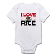 I Love Rice Infant Bodysuit