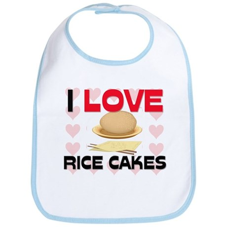 I Love Rice Bib