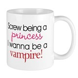 I Wanna Be A Vampire Small Mug