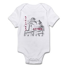 Byron Bay - Surfer - light ho Infant Bodysuit