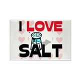 I Love Salt Rectangle Magnet (10 pack)