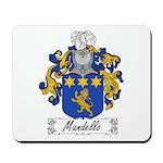 Mandello Family Crest Mousepad