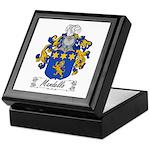 Mandello Family Crest Keepsake Box
