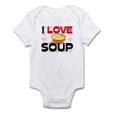 I Love Soup Onesie
