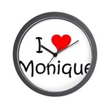 Cool Monique Wall Clock