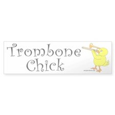 Trombone Chick Bumper Sticker (50 pk)