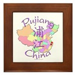 Pujiang China Framed Tile
