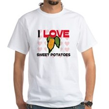 I Love Sweet Potatoes Shirt