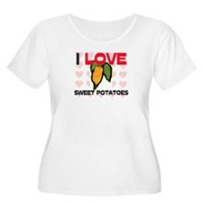I Love Sweet Potatoes T-Shirt