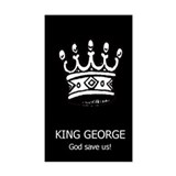 Anti-Bush: King George (bumper)