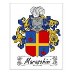 Maraschini Family Crest Small Poster