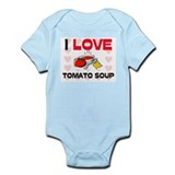 I Love Tomato Soup Infant Bodysuit