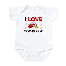 I Love Tomato Soup Infant Bodysuit