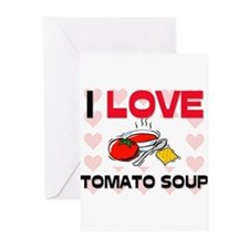 I Love Tomato Soup Greeting Cards (Pk of 10)