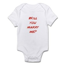 Comic - Will you marry me? Infant Bodysuit