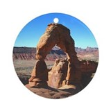 Delicate Arch 02 - Ornament (Round)