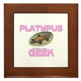 Platypus Geek Framed Tile