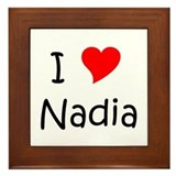 Unique Nadia Framed Tile