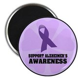 "Alzheimers Awareness 2.25"" Magnet (10 pack)"