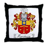 Marchesini Family Crest Throw Pillow