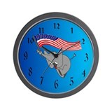 Republican Elephant Wall Clock