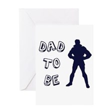 Dad to be Greeting Card