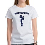 Kokopelli Birdwatcher Women's T-Shirt