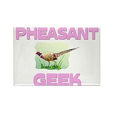 Pheasant Geek Rectangle Magnet