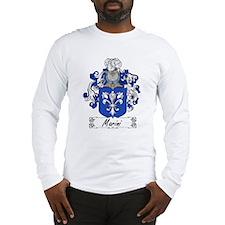 Marini Family Crest Long Sleeve T-Shirt