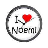 Cute Noemi Wall Clock