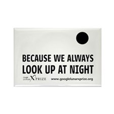 Always Look Up Rectangle Magnet (10 pack)