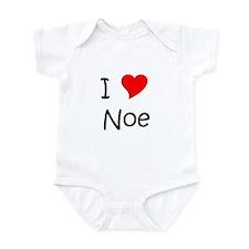 Cute I love noe Infant Bodysuit