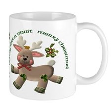 Holiday Reindeer Irish/English Mug