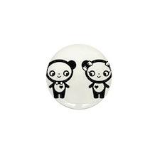 Panda Love Mini Button (100 pack)