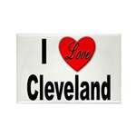 I Love Cleveland Rectangle Magnet (10 pack)