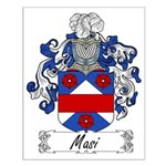 Masi Family Crest Small Poster