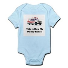 Ambulance This Is How My Dadd Infant Bodysuit