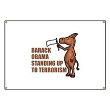 Anti-Obama War On Terror Banner