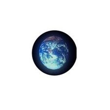 Planet Earth Environment Mini Button