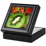 Kiwi Fruit Keepsake Box