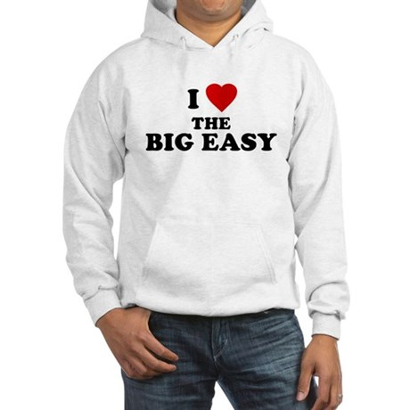 I Love [Heart] the Big Easy Hooded Sweatshirt