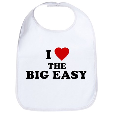 I Love [Heart] the Big Easy Bib