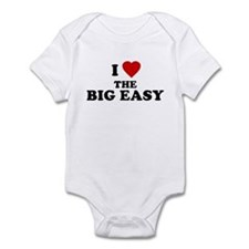 I Love [Heart] the Big Easy Infant Creeper